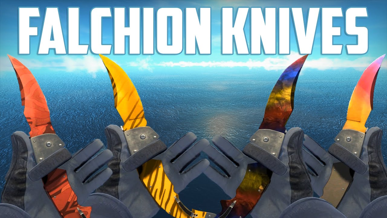 Cs Go Falchion Knives All Skins Showcase Все Скины