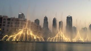 Burj khalifa dancing fountain I will always love you