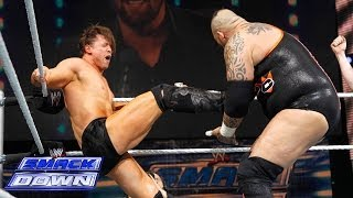 The Miz and Brodus Clay continue their Singles Match despite the in...