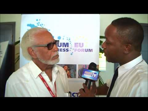 Winston Stona at the 3rd CARIFORUM-EU Business Forum