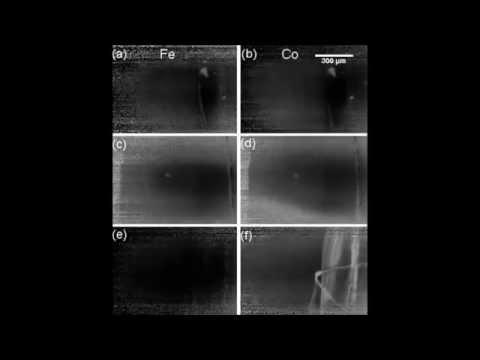 Applied Physics Letters : Layer resolved magnetic domain imaging of epitaxial heterostructures...