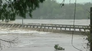 RAW VIDEO: Floods Cause Bridge Collapse Over Llano River In Texas