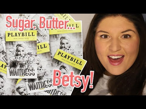 Waitress the Musical (Broadway) 🍰 VLOG/STAGE DOOR/REVIEW