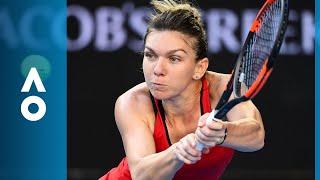 Simona Halep v Naomi Osaka match highlights (4R) | Australian Open 2018