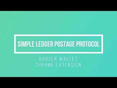 Simple Ledger Postage Protocol Demonstration