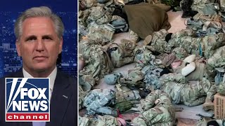 McCarthy places blame on Pelosi, Schumer for mistreatment of National Guard
