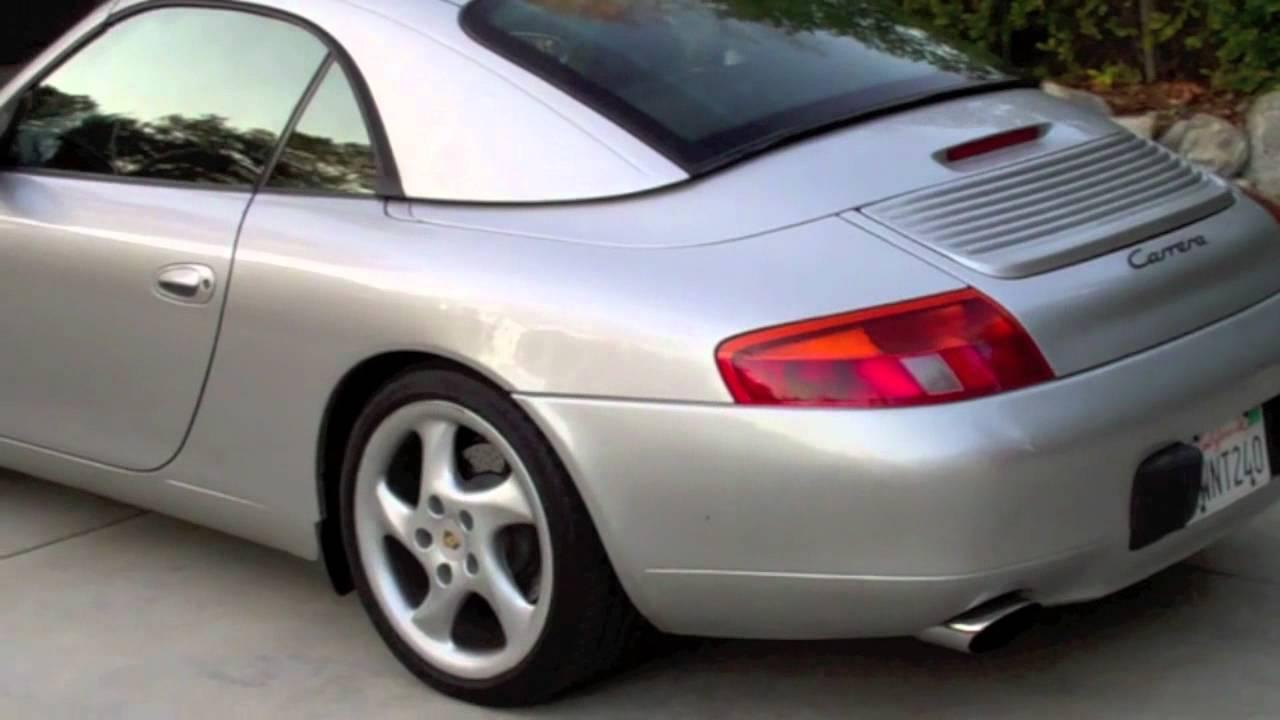 1999 Porsche Carrera Cabriolet For Sale Youtube