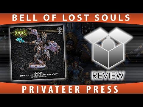 BoLS Unboxing | Azrael | Privateer Press