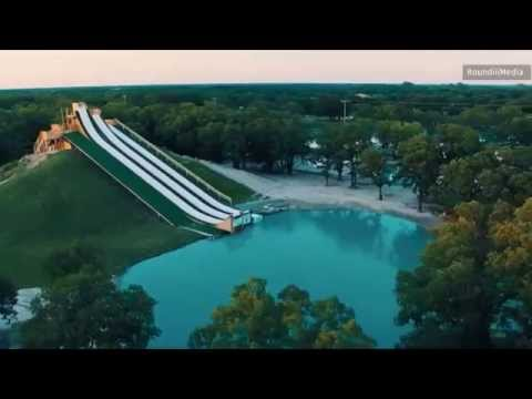 New Royal Flush Water Slide in Waco, Texas