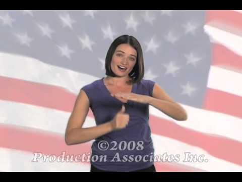 We Sign Patriotic - Pledge of Allegiance - Sarah