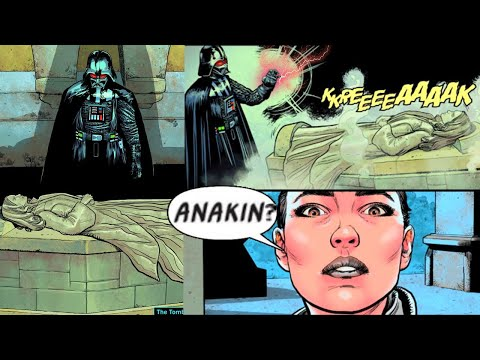 DARTH VADER DESTROYS PADME'S TOMB(CANON) - Star Wars Comics Explained