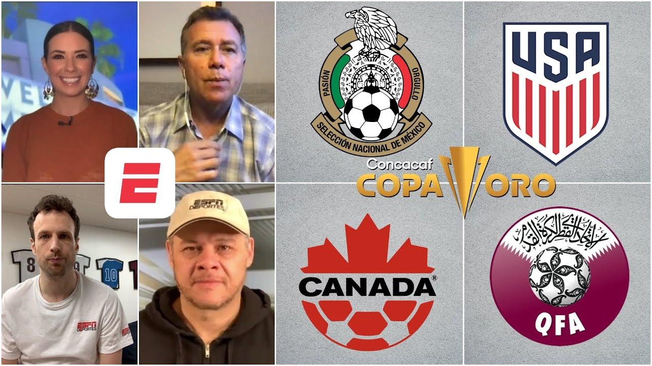Download COPA ORO. ¡OJO con CANADÁ! ¿Qué selección ha jugado mejor en lo que va del torneo?   Exclusivos