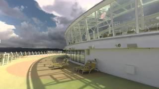 Royal Caribbean Allure of the Seas Secret Balcony Tour