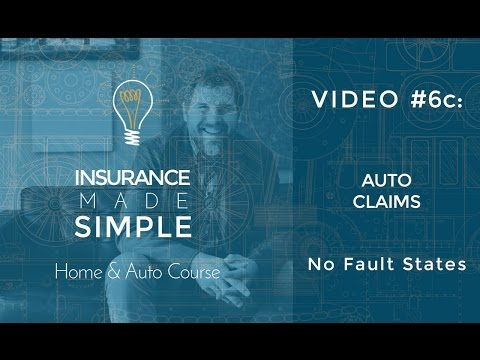 Auto Insurance Claims – No Fault States