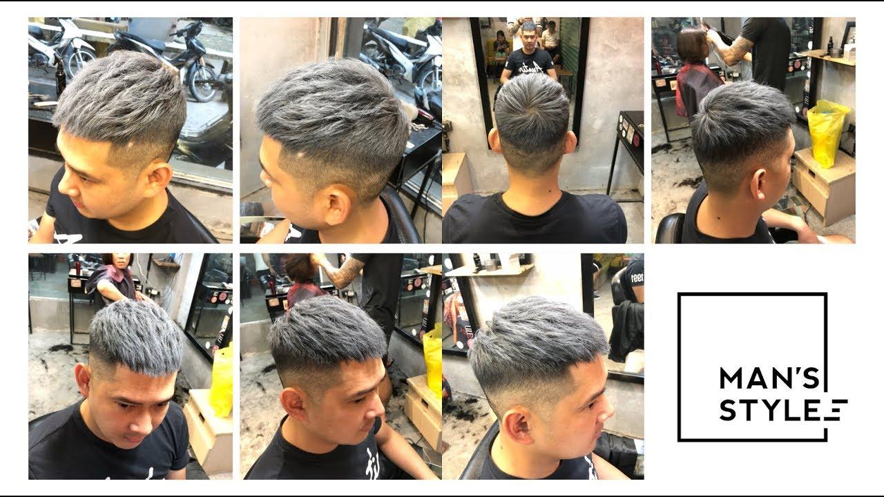 Silver Ash – Sáp màu cao cấp Nhật Bản – kiểu tóc Crop Texture 1