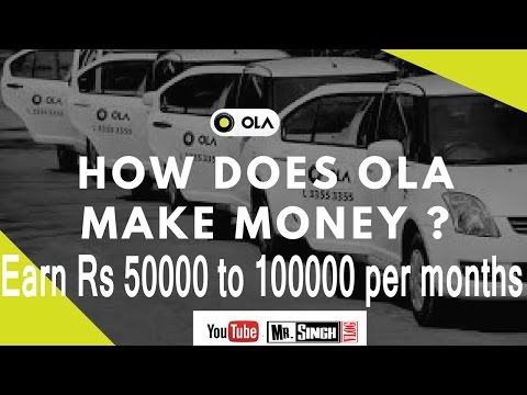 business with ola cab (english) earn upto 1 lack par months