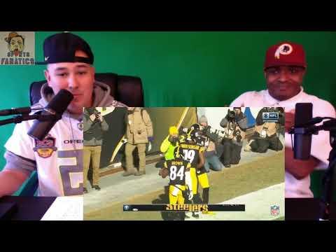 Jaguars vs Steelers   Reaction   NFL Division Round Game Highlights