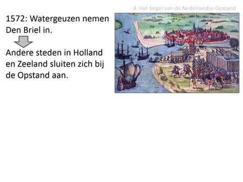 4. Het begin van de Nederlandse Opstand (VWO - HC De Republiek)