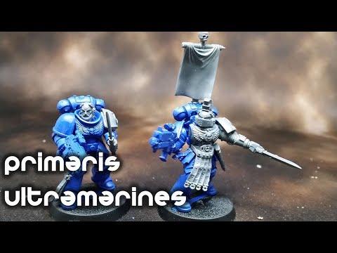 Converting Primaris Ultramarines Sergeants