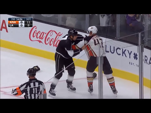 Best Hockey Fights of 2016