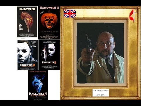 DONALD PLEASENCE 19191995 Halloween series