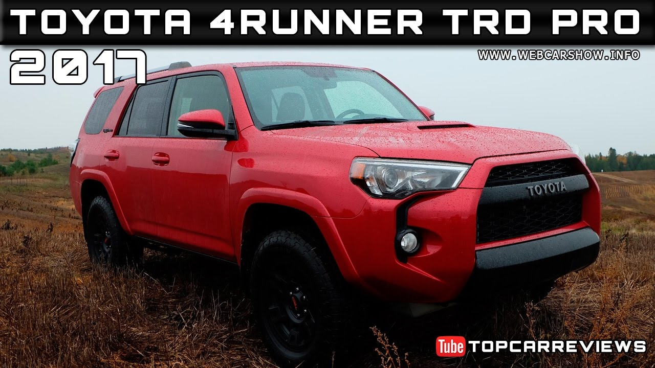 2017 toyota 4runner trd pro review rendered price specs. Black Bedroom Furniture Sets. Home Design Ideas
