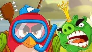 Angry Birds Seasons - All New Summer Camp Episode Level!