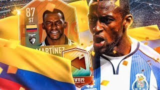 THE BEST VALUE FLASHBACK?! 87 FLASHBACK JACKSON MARTINEZ PLAYER REVIEW! FIFA 19 Ultimate Team