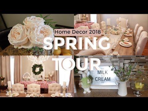 SPRING HOME TOUR 2018   HOME DECOR   SPRING & EASTER