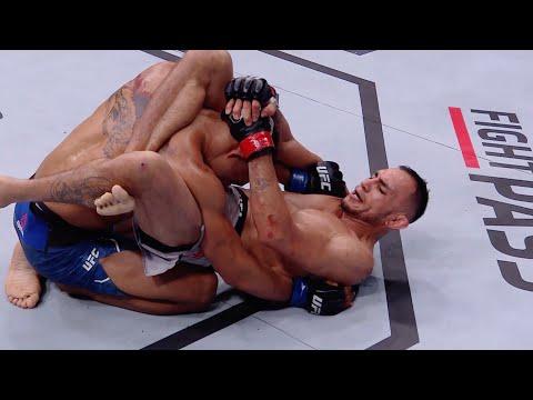 Лучшие финиши треугольником в истории UFC