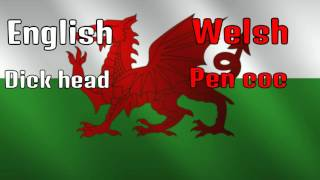 How to swear in Welsh
