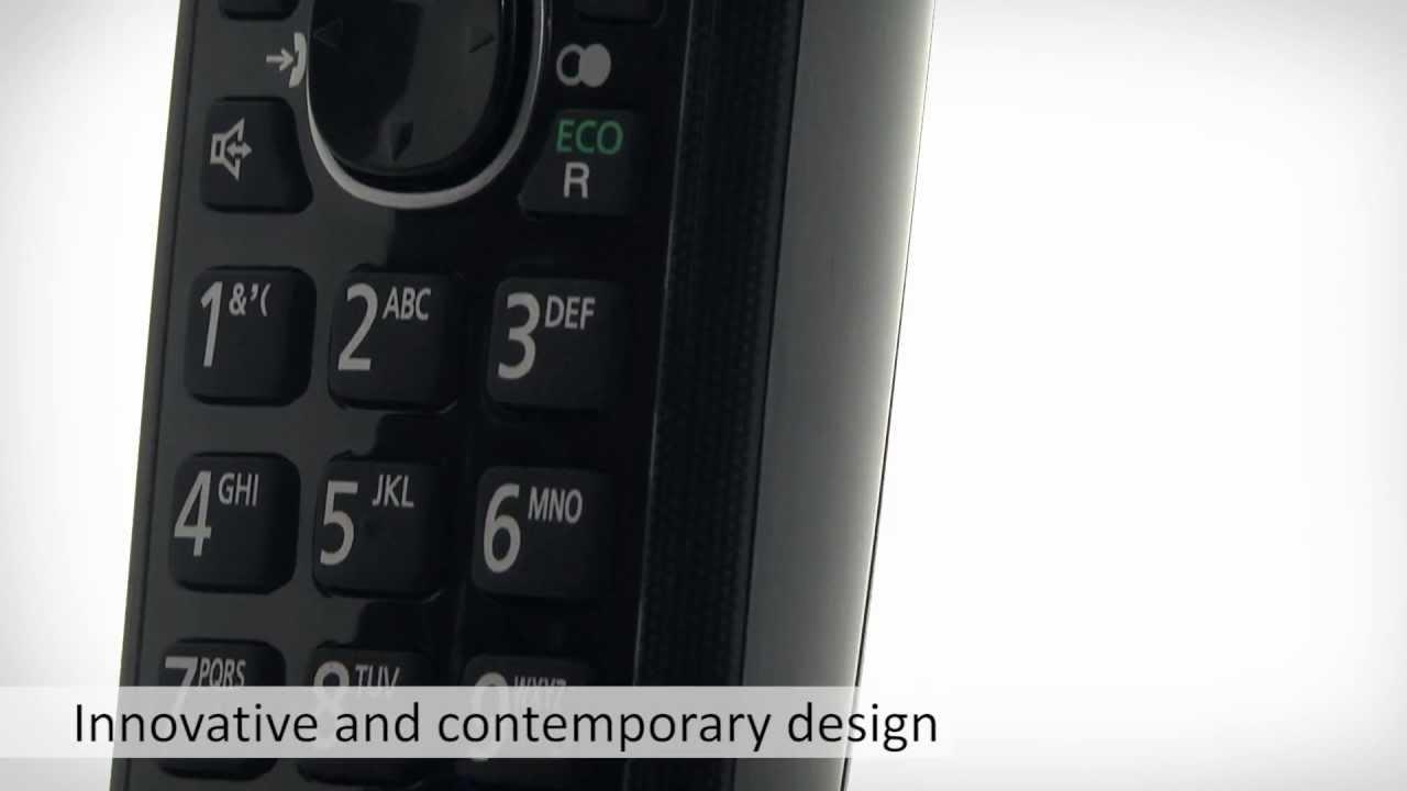 Panasonic Phone Number >> Panasonic Nuisance Call Blocker Tg806 Series Cordless Telephone