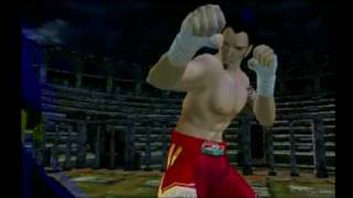 Virtua Fighter 4 Evolution - Brad Intro