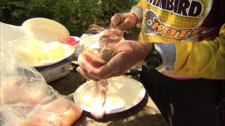 Cooking Walleye Shishkabobs