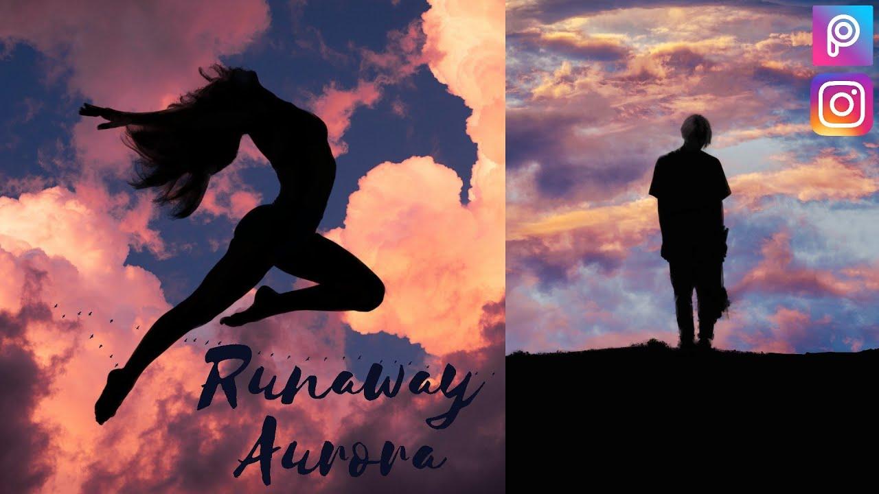 How to Edit Runaway Aurora in Picsart  Runaway aurora  Edit Runaway Aurora  - YouTube