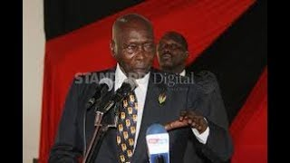 Did retired president Moi 'predict' the current political events?