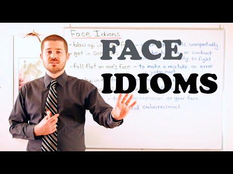Idiom Series - Face Idioms