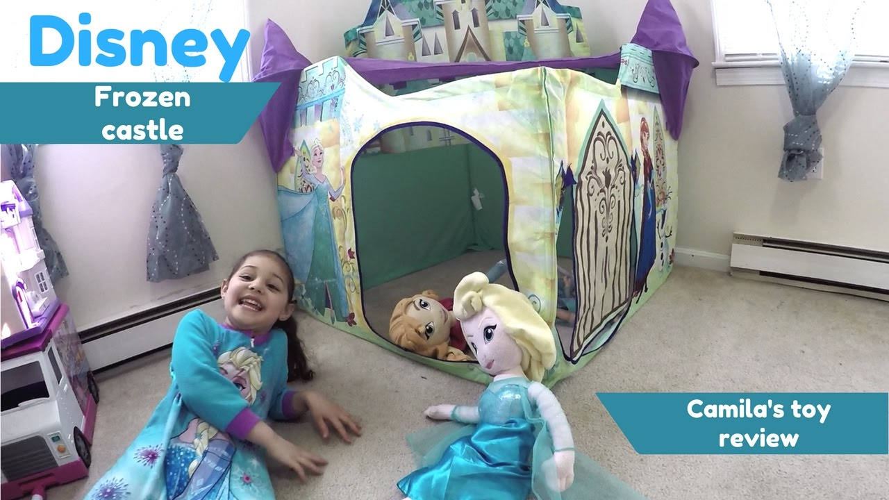DISNEY FROZEN CASTLE PLAYHUT AND PLAY TENT PLAYTIME WITH ANNA AND ELSA FUN PLAY WITH FROZEN CASTLE  sc 1 st  YouTube & DISNEY FROZEN CASTLE PLAYHUT AND PLAY TENT PLAYTIME WITH ANNA AND ...