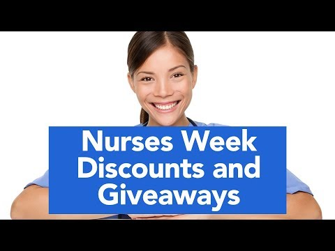 Chris Davis - Nurses Week Freebies And Deals!