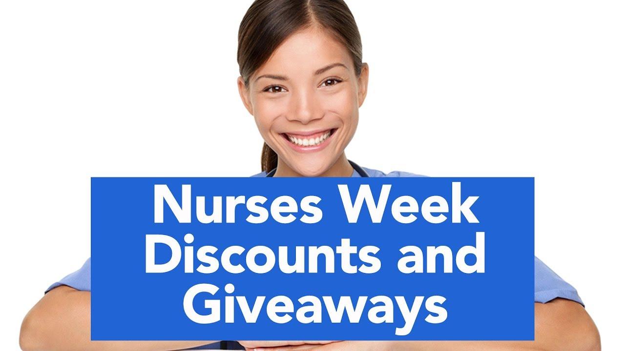 2019 Nurses Week freebies and deals