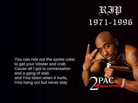2pac Rather  be ya  Nigga with lyrics