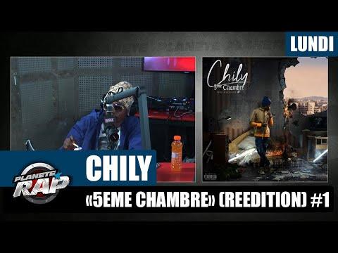 Youtube: Planète Rap – Chily«5ème chambre» (réédition) #Lundi