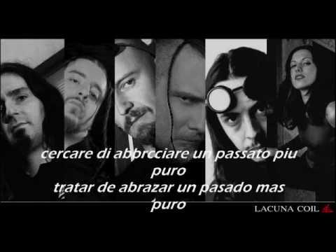 Lacuna coil- Senzafine (subtitulado): Subtitulos con la letra original en italiano traducida al español.