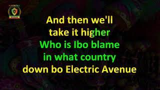Eddie Grant - Electric Avenue (Karaoke Version)