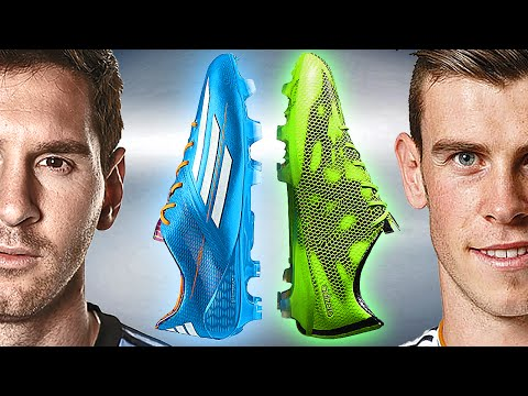 Messi VS Bale - Boot Battle: adidas F50 2014 vs 2015 - freekickerz