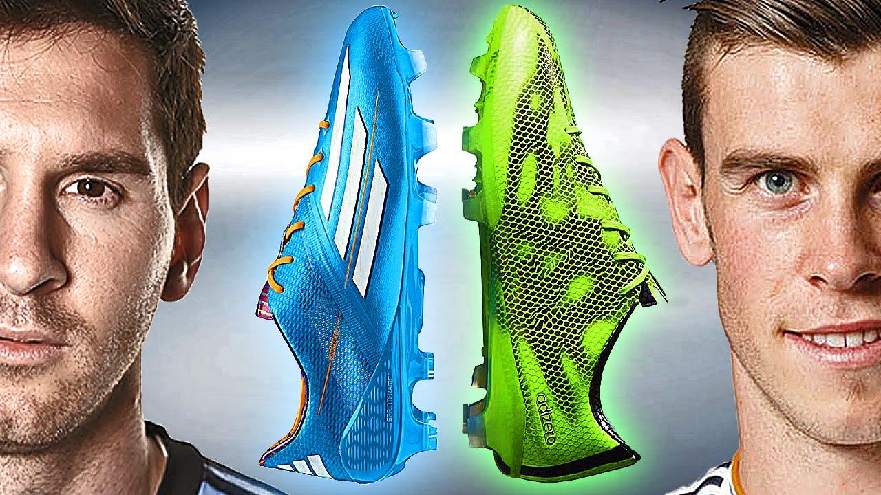 958fc0d03f5 Messi VS Bale - Boot Battle  adidas F50 2014 vs 2015 - freekickerz - YouTube