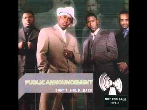 Public Announcement - Don't Hold Back 2001
