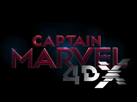 Captain Marvel 4DX Regal Cinema Premiere