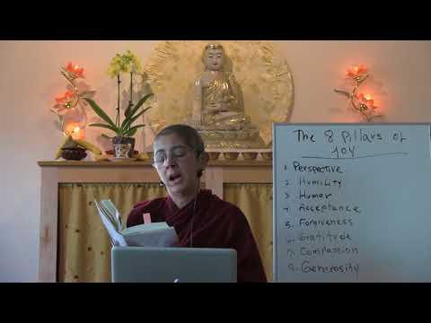 The eight pillars of joy