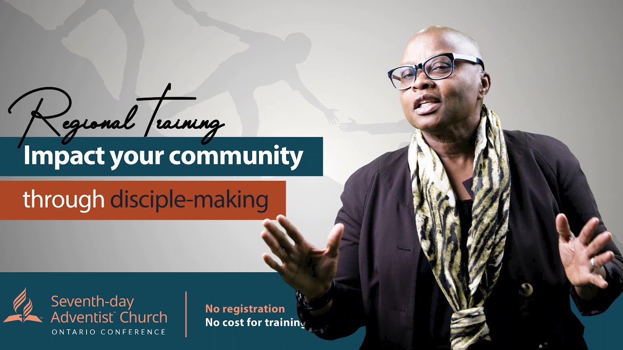 Discipleship Regional training Invitation | Maria McClean